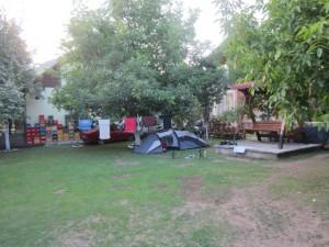 Camping im Garten