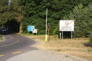 Grenzübergang Rumänien