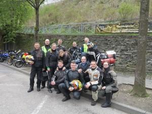 Gruppenfoto in Monschau
