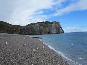Steilküste bei Eretrat