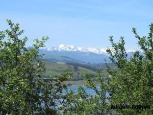Schneebedeckte Picos